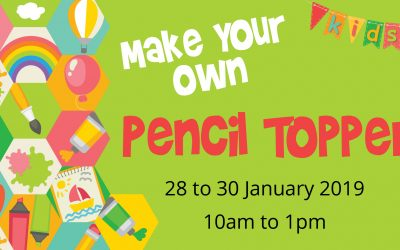 Make your own Pencil Topper