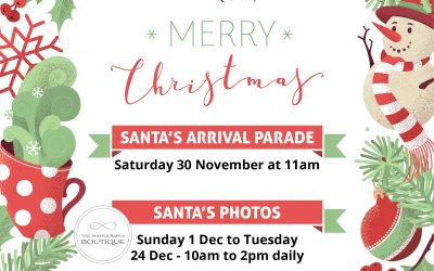 Santa Claus is coming to Centre Point!